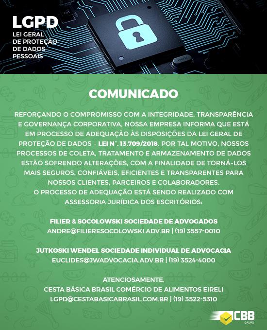 Informativo LGPD